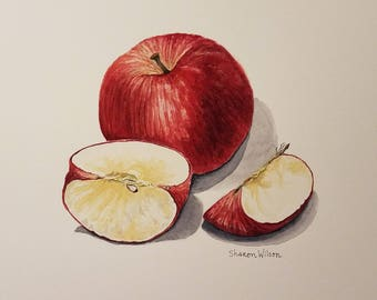 Apple Original Watercolor