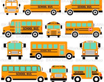 School bus svg - School bus clipart - School bus vector - School bus digital clipart for Design or more, files download eps, png, jpg, svg