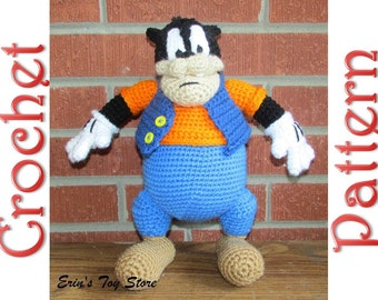 Pete the Cat a Crochet Pattern by Erin Scull