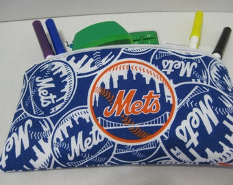 Mets Baseball Team Pencil Case