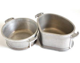 Guardian Service Cookware Trio Triangular Aluminum Pan 2 Qt Round Saucepan