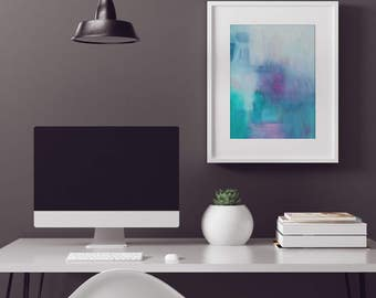 Abstract Wall Art Print - Isabella's Son 2 // Artist Charlie Albright // Blog Moments by Charlie | Modern Abstract Art Print