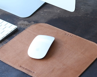 Personalized Graduation Gift Leather Mouse Pad Mousepad Office Desk Pad corporate gift business College Company gift - The Architect