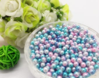 40 small beads drilled stick