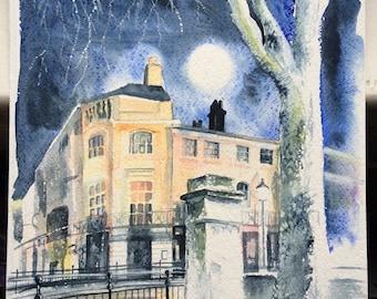 Greenwich Super Moon