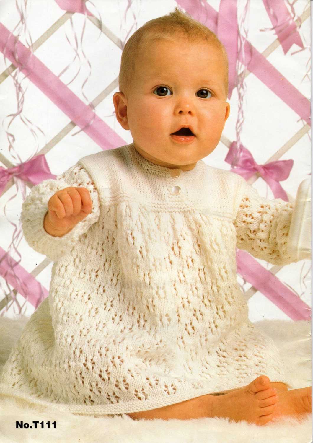 baby girls dress knitting pattern pdf download long sleeve