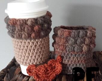 Multi - way Crochet Acorn Cup Cozy Pattern
