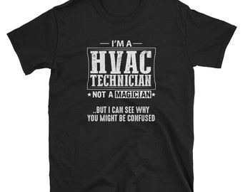 HVAC Technician Shirt Gift Magician Tee