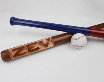 33Inch Custom baseball Bat Deep Carved, Ring bearer gift, Groomsmen Gift, Custom Best Man Gift, Wedding Gift, Baseball gifts for men