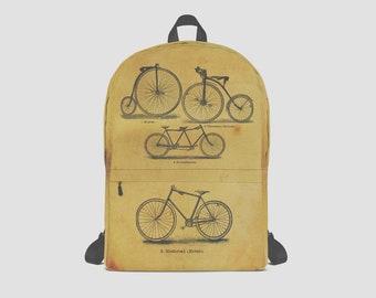 Vintage Bicycles Rucksack