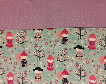 China Doll Pattern  Standard Pillowcase