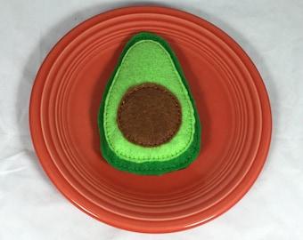 Felt Play Food Avocado