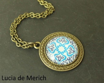 Moroccan Style Necklace - Gift For Her-  Gift For Woman- Moroccan Style