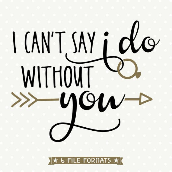 Agile image throughout i can't say i do without you free printable