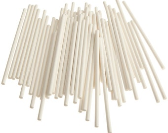 "100 White Cake Pop Sticks. 6"" Cake Pop Sticks. 4.5"" Cake Pop Sticks. Rice Krispy Sticks. Lollipop Sticks. Marshmallow Sticks. Baking."