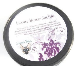 Luxury Butter Souffle 7 butters,deep conditioner,hair treatment,hair cream,vegan,natural hair products