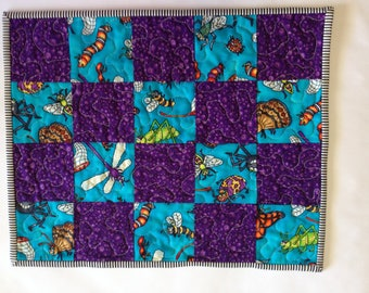 Quilted Kids Placemat / Bugs
