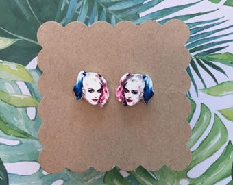 Harley Quinn/ Margot Robbie | Stud Earrings