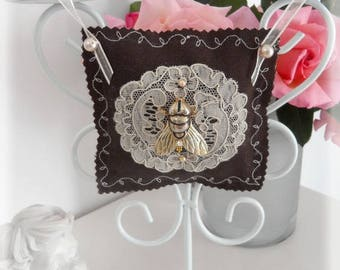 vintage Lavender cushion