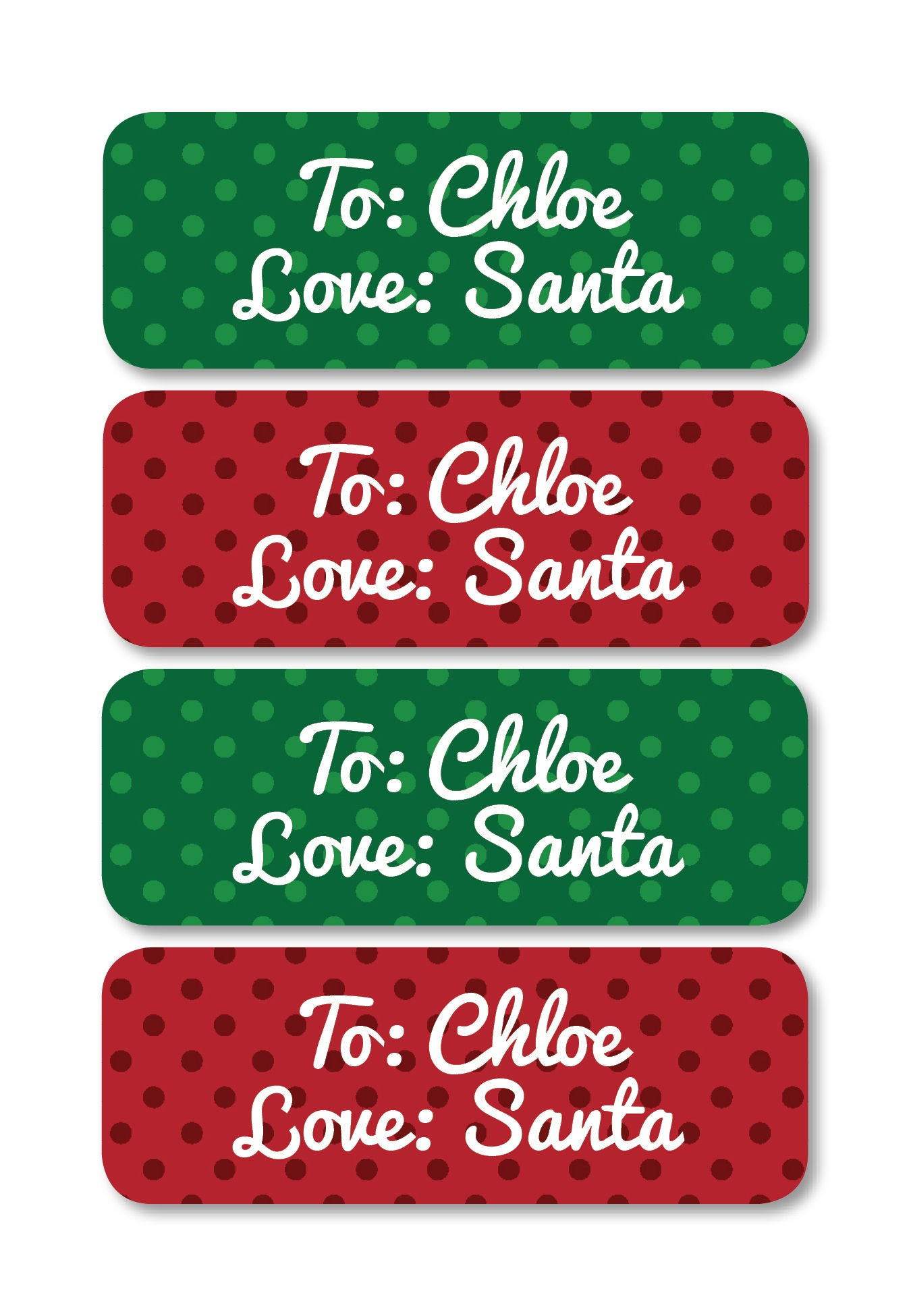 Christmas labels from santa goalblockety christmas labels from santa solutioingenieria Images