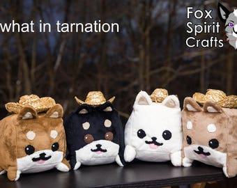 Shiba Inu Cube Cute Adorable Plush Plushie Stuffed Dog Toy Shibe