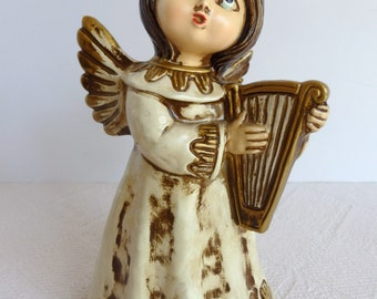 Mid Century Angel Figurine. Vintage Angel figurine.1970's Angel Figurine. Vintage Angel. Vintage Christmas