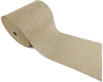 """100 Yards - 14"""" Premium Burlap Roll -- Eco-Friendly Natural Jute Burlap Fabric - 300 Foot - 14 Inch Wide"""