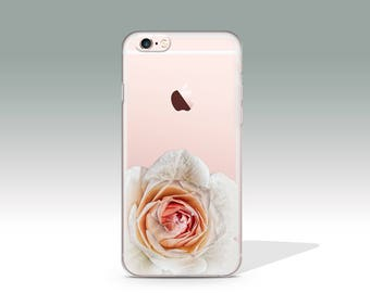 iPhone 7 Case Floral Clear iPhone 7 Plus Case iPhone 7 Case Clear iPhone 6 Case iPhone 6s Case Silicone iPhone Case Christmas Gift //317