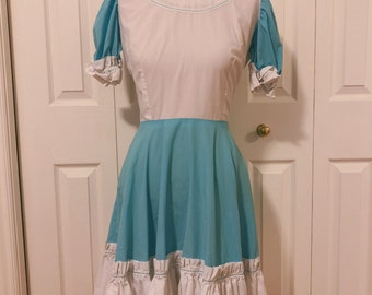 1950s Cotton Dress