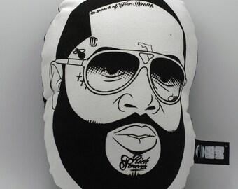 RICK ROSS -ILLOW-Hip Hop Throw pillow