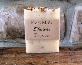 Party Favors - Lavender Chamomile - Handmade soaps - Bulk Soap- Favors - Soap Favor - Soap Favors - Bridal Shower Favors - 4.5 oz.