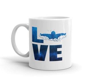 LOVE Swim Mug