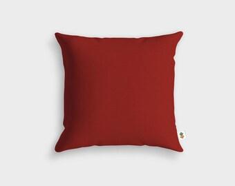 Cushion Basic BORDEAUX - Made in France - 45 x 45 cm