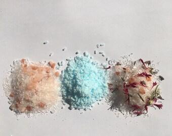 Luxury Natural Vegan Bath Salts, Gift for Her, Pamper Gift