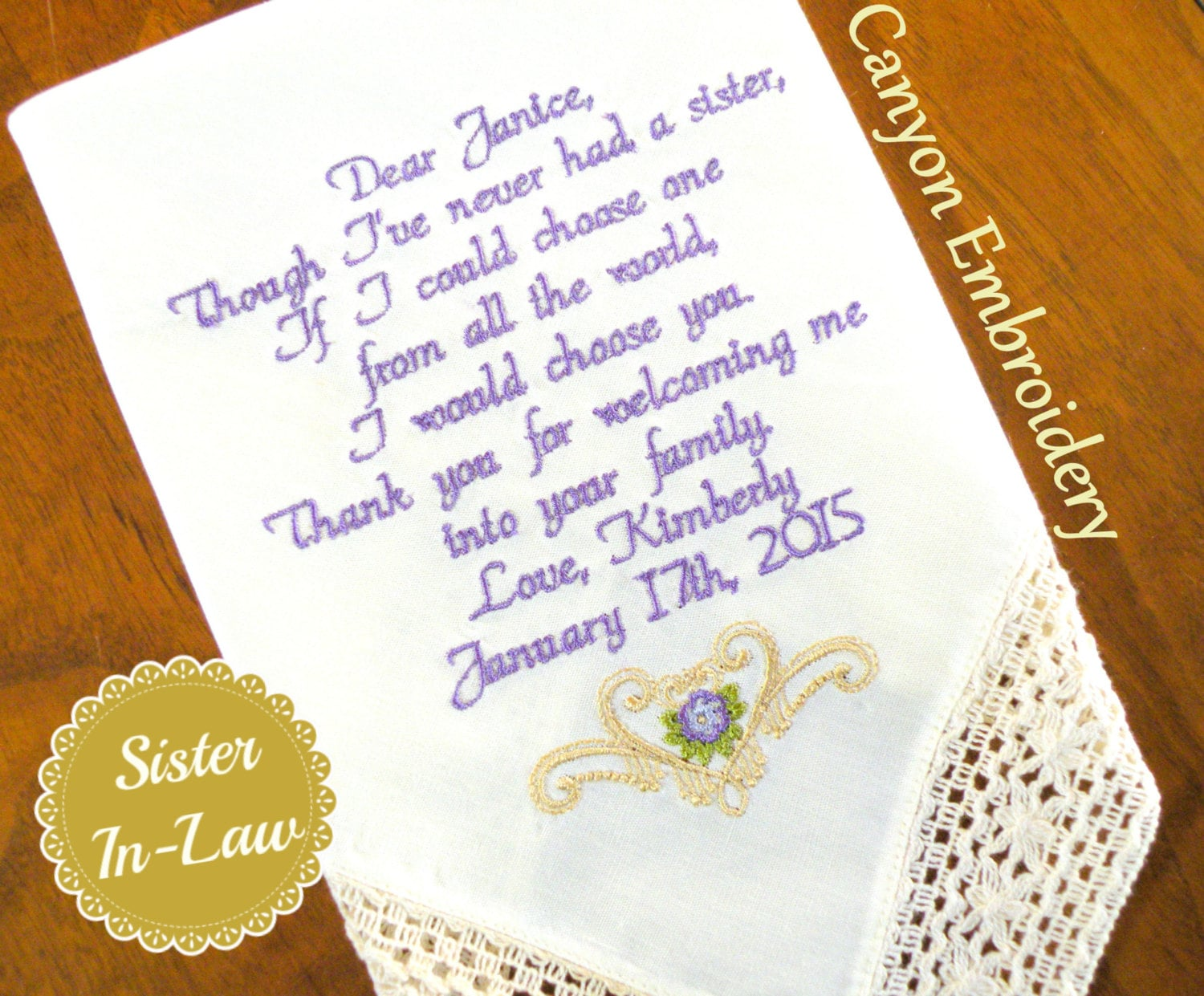 Gifts for sisters etsy wedding