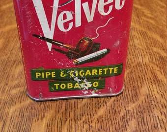Velvet Tobacco Tin