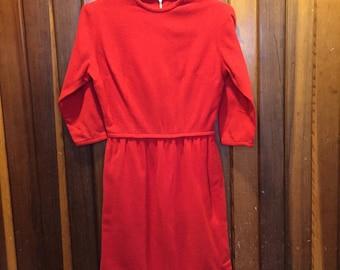 1960s // It's A Valentine Christmas // Vintage Sue Brett Junior Dress