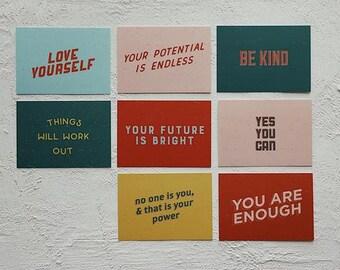 Encouragement Postcards Pack of 8 | Set of Postcards