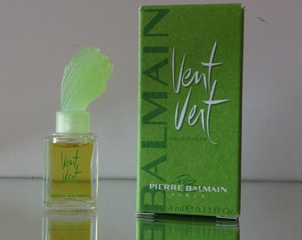 Vent Vert by Pierre Balmain  - FULL - Miniature perfume bottle - Eau de Toilette Parfum-