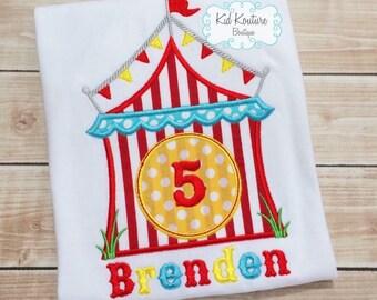 Circus Birthday shirt