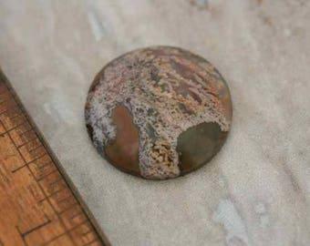 Priday cabochon en agate mousse. Perles, fabrication de bijoux, offre de bijoux.