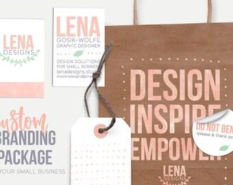 Custom Small Business Branding - Branding Package - Brand Design - Branding Services - Logo Design - Branding Kit - Custom Branding Expert