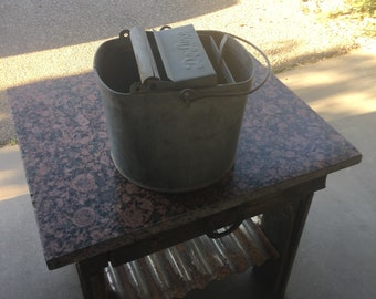 Antique mop bucket