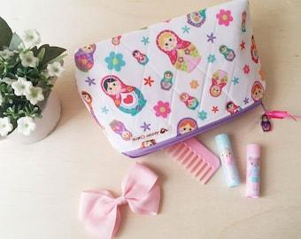 "Make-up Bag ""Russian Dolls / Matryoshka"""