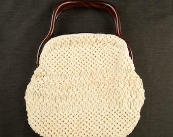 Vintage Button On Bag by Delanthe