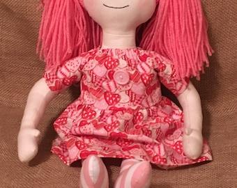 Pink Valentine Annie doll