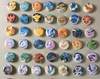 Pick Your Favorite! 40+ Pokemon Inspired Pins