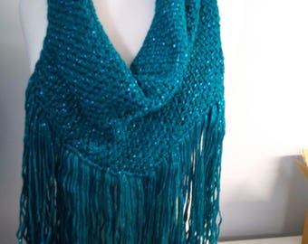 Cowl with Fringe