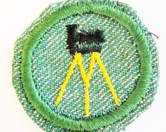 "Intermediate Girl Scout Badge ""Photography"" circa 1948"