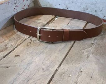 Wider Handcrafted  leather belt